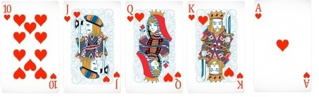 Royal Straight Flush Jogada Do Poker