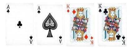 Dois Pares Jogada do Poker
